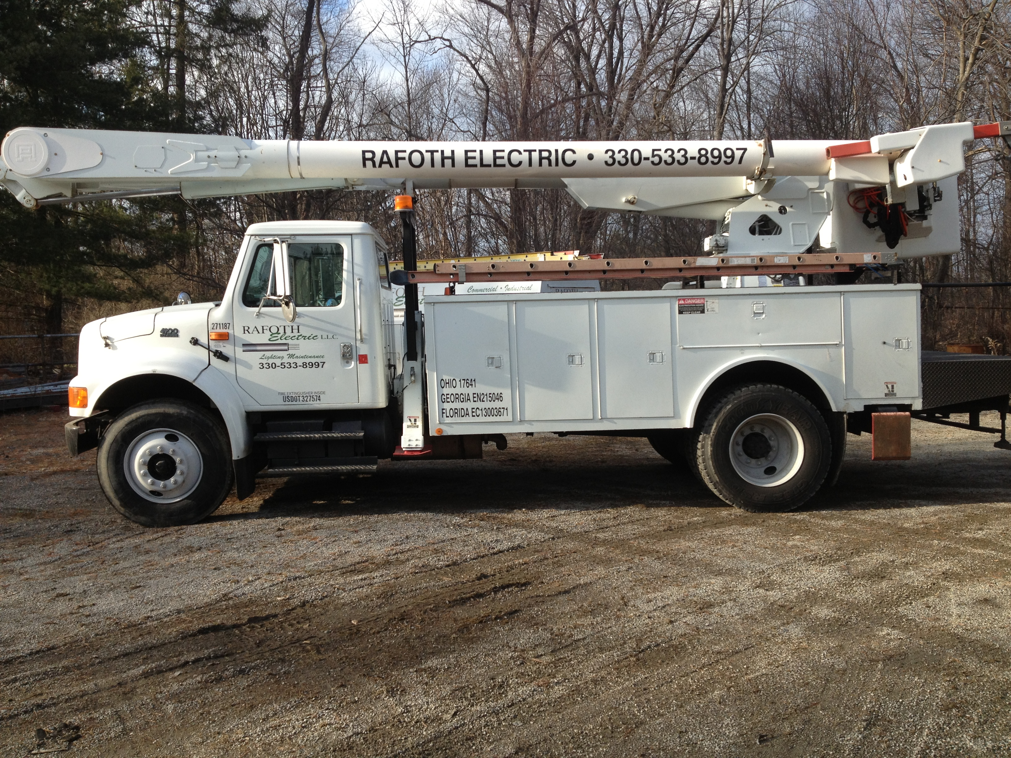 Rafoth Electric lighting maintenance and electrical service Canfield Ohio NECA-IBEW Electricians