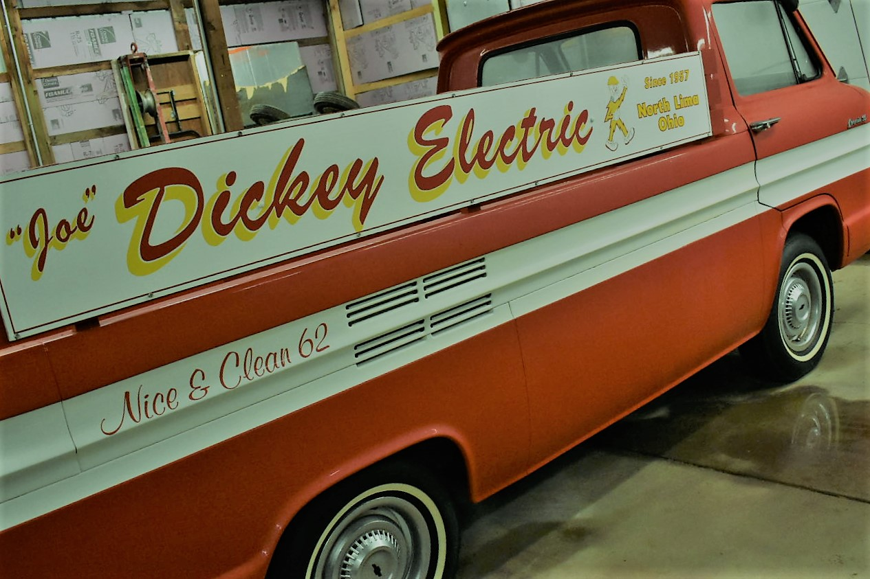 Dickey Electric retro truck