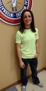 Brittany Massacci, electrician apprentice, Warren