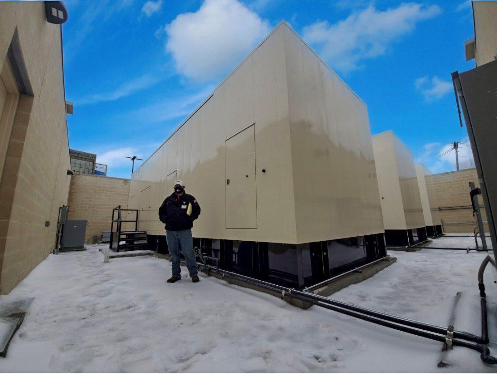 dickey electric power generator