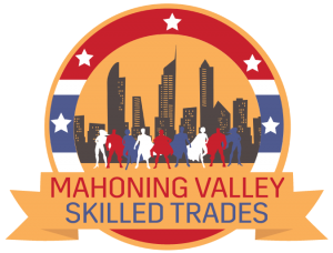 Graphic for the Mahoning Valley Skilled Trades Expo.
