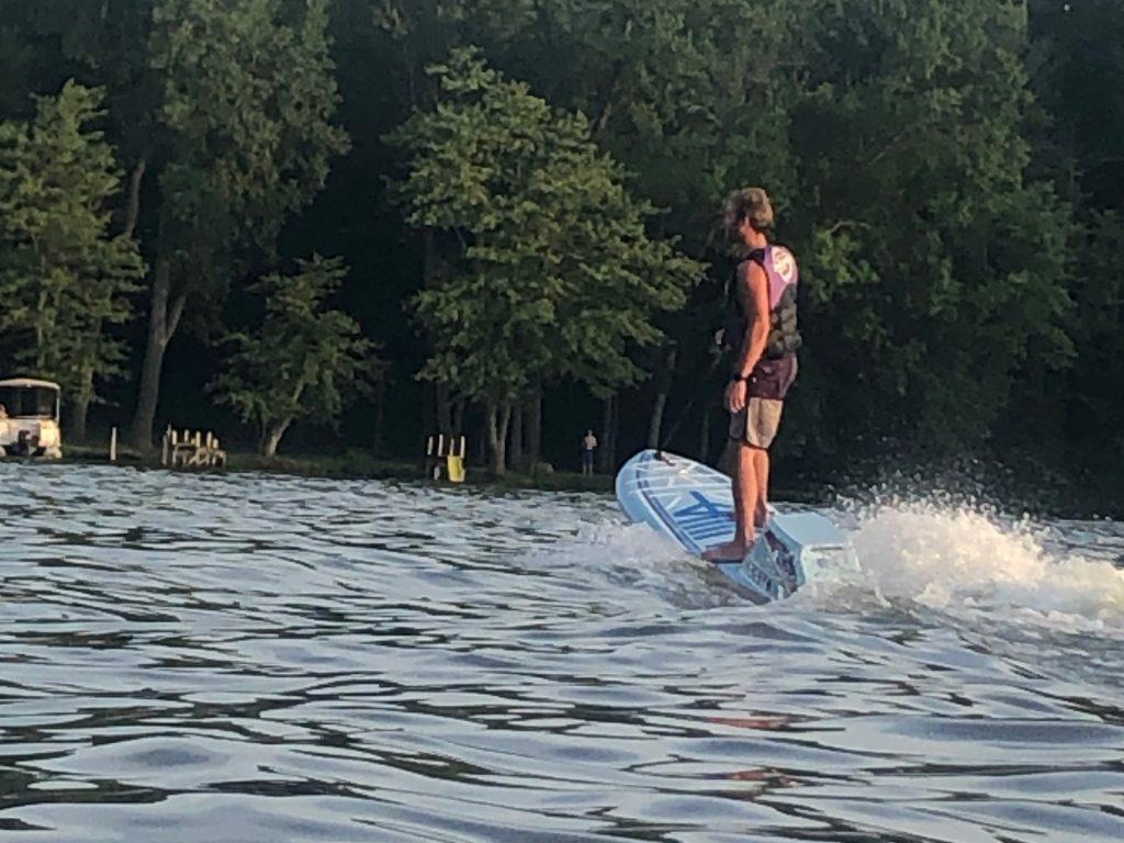 Satterlee water skiing
